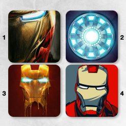 Dessous de verres Iron Man Marvel